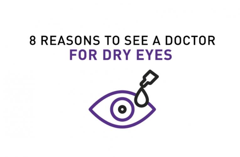 您應該看醫生的8個乾眼症跡象